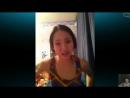 Развел молоденькую школьницу на сиськи в Skype Школьница показывает сиськи