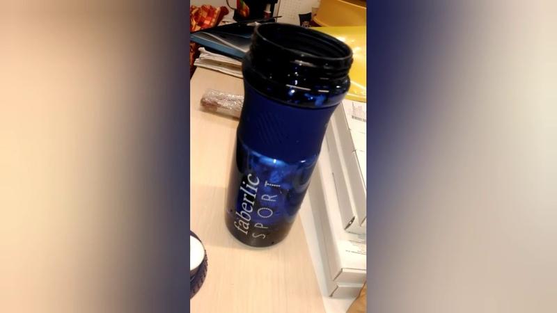 Тестируем шейкер Фаберлик на белковом и протеиновом напитках