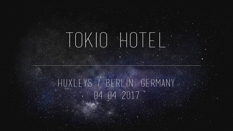 Tokio Hotel - Tom Gustavs Drum Solo (Dream Machine Tour - Huxleys, Berlin 04042017)