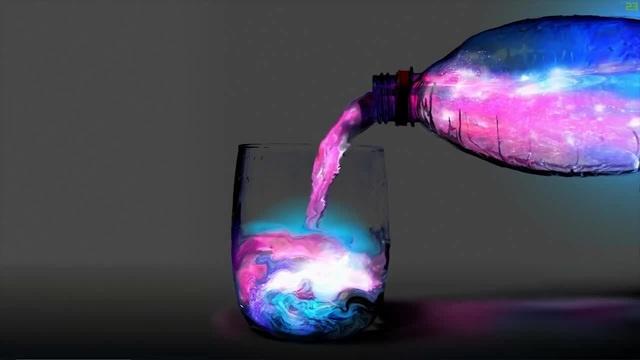 Space in Bottle