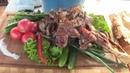 Тандыр-кебаб из баранины. Разделка туши