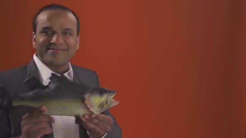 One Pound £1 Fish Man-Al Video-Позитивный Арабский клип о продавце рыбы).Как на рынке рыбу покупать).Трап/танцы.arabic trap