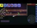 [CyberYT] Terraria 1.2 | Paladin's Hammer VS all bosses | Android/ios