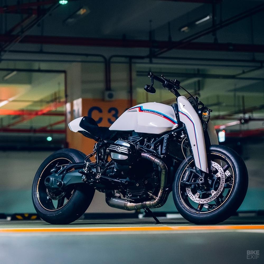 Onehandmade: кастом BMW R nineT Version 2