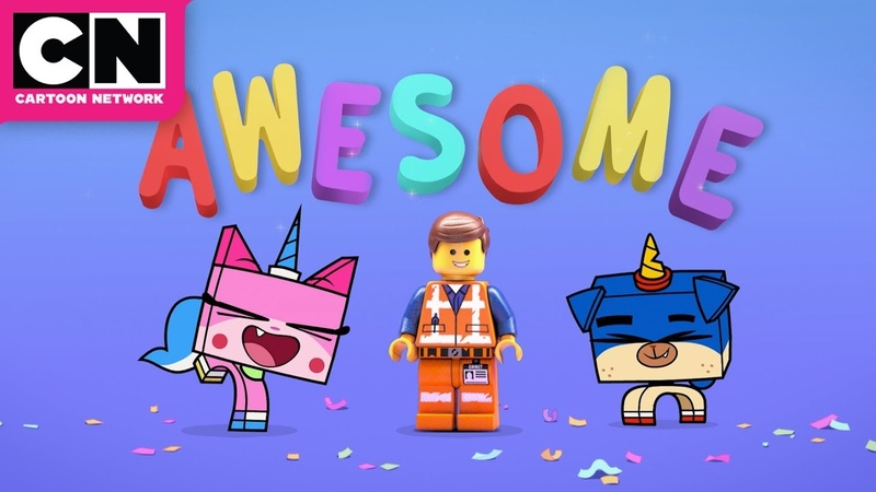 THE LEGO MOVIE 2 THE SECOND PART | Everything Is Awesome (Tween Dream Remix) | Cartoon Network