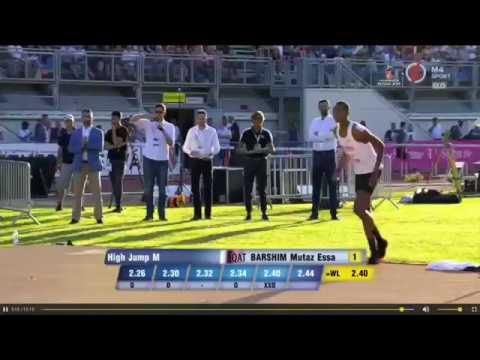 MUTAZ BARSHIM GOES FOR WORLD RECORD ATTEMPT OF 2.46M AT GYULAI ISTVAN MEMORIAL 2018