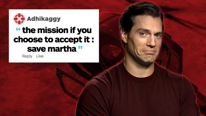 Henry Cavill Responds to IGN Comments