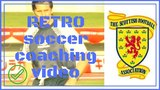 retro soccer coaching video