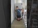 Перевозка холодильника бережный спуск по этажам