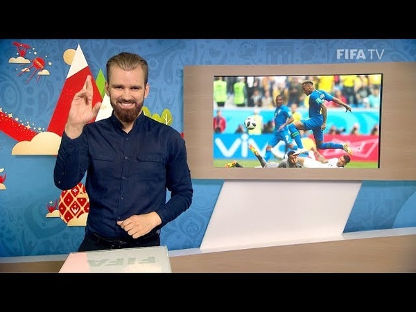 FIFA WC 2018 BRA vs CRC for Deaf and Hard of Hearing International Sign