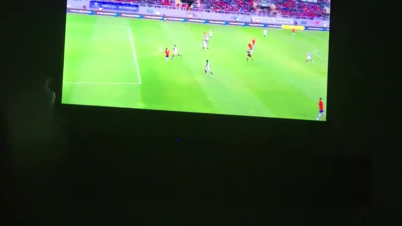 JustRedDevils - Alexis Sanchez's goal in Chile's 3-2 loss to Costa Rica last night