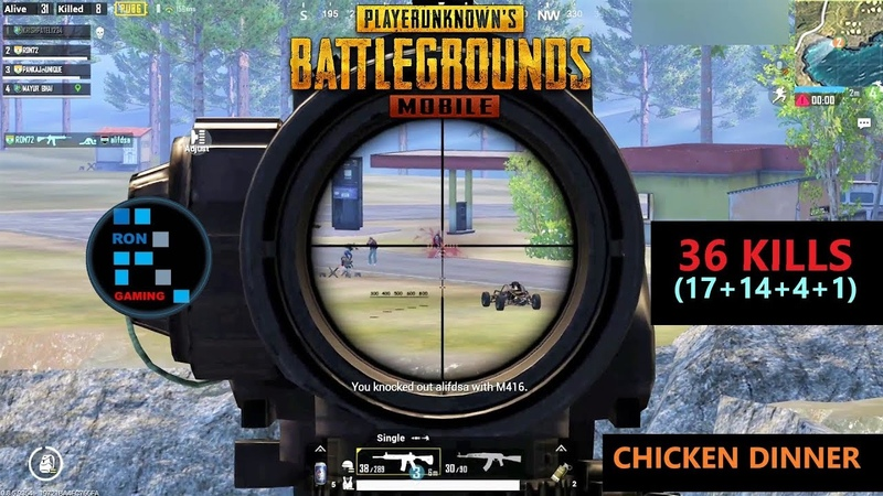 [Hindi] PUBG MOBILE | 36 KILLS FUN GAME PLAY CHICKEN DINNER OLD FOOTAGE FOUND