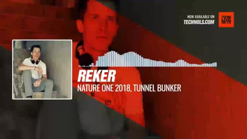 Reker - Nature One 2018, Tunnel Bunker Periscope Techno Music