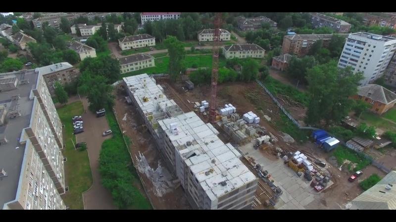Жилой дом Йорт - видеоотчет хода строительства