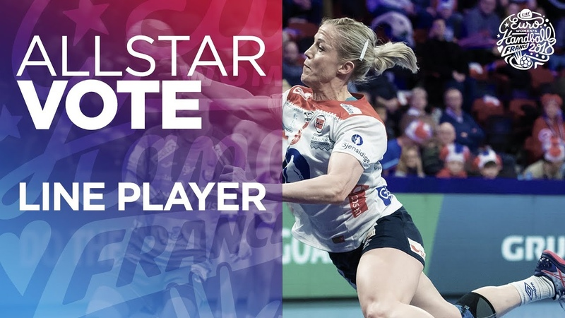 ALL STAR TEAM Selection Line Player Women's EHF EURO 2018