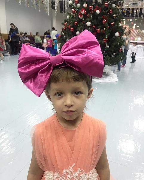 Подросшая дочка Елены Борщевой.