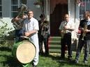 La saxofon Mihai Cucereanu ,impreuna cu fanfara din tinutul Herta,Bucovina