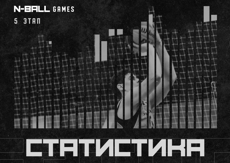 Статистика пятого этапа N-Ball Games