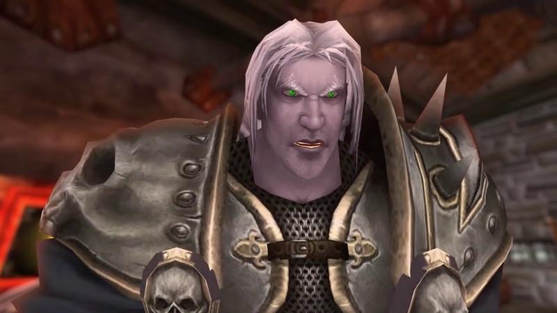 Сюжет Warcraft 3 кампания нежити на движке WOW. Культ проклятых. Машинима (RUS)