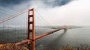 Картинка мост. Сан-Франциско, облака, Золотые Ворота.