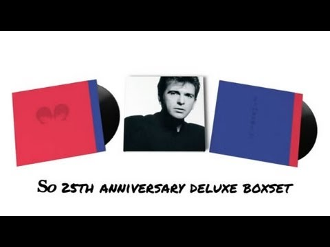 Peter Gabriel - 'So' Deluxe Box Set Walk Through