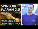 Maxim Cherepnin about attack counterattack with SPINLORD Waran 2.0 mm атака и контратака