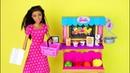 Куклы Барби МАГАЗИН ФРУКТОВ Открываем Новый Набор Игрушка для девочек Канал Про Школу