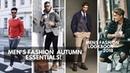 Men's AUTUMN/FALL ESSENTIALS 2018 | Streetwear | Men's Fashion | Lookbook