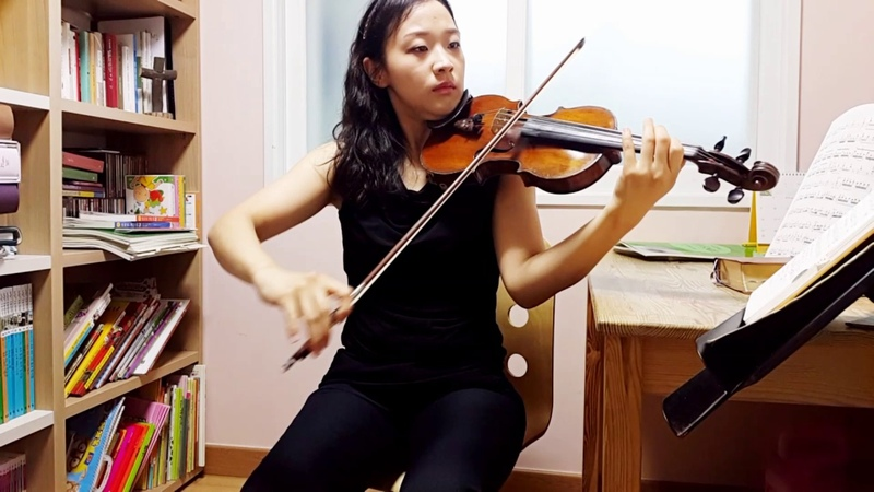 [CCM]이 산지를 내게 주소서 바이올린 연주 김민정 _바이올린 레슨_바이올린 배50864