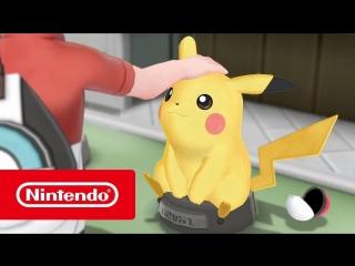 Pokémon: Let's Go, Pikachu! и Pokémon: Let's Go, Eevee! — Исследуйте мир (Nintendo Switch)