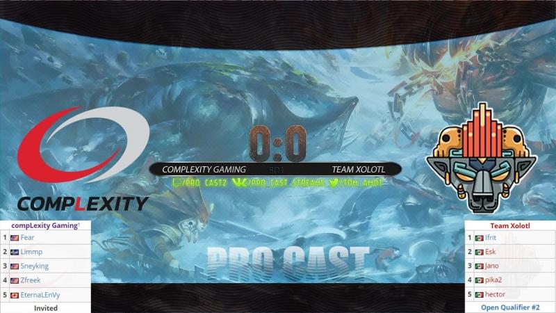 CompLexity Gaming vs Team Xolotl bo3 The Kuala Lumpur Major NA qual