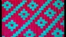 Weaving Tutorial Meshwork Ribbon Cojin Decorado Tutorial 3 3D Cushion Mat Dress