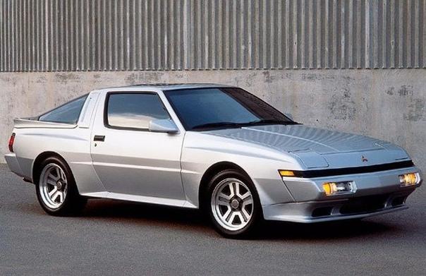 Обзор : Mitsubishi Starion '198290