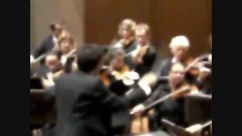 26.10.2008 Netherlands, Eindhoven/ Brahms Violin Concerto/ Part I