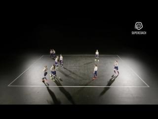 Football_Soccer exercise - Awesome and fun nutmeg exercise (like Messi_Ronaldo_Neymar)