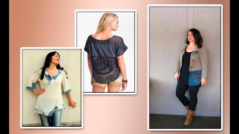 Модели вязания джинсовая ткань трикотаж