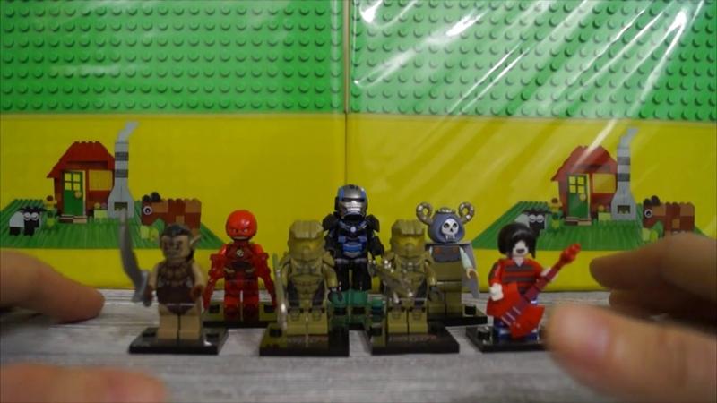 Лего Halo , Время приключений и другие крутые минифигурки с Алиэкспресс