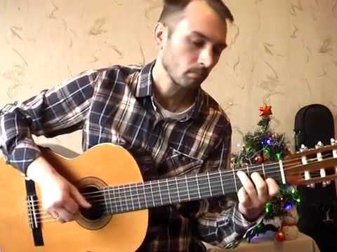 City of Stars - OST La La Land guitar solo cover V.Troshchinkov