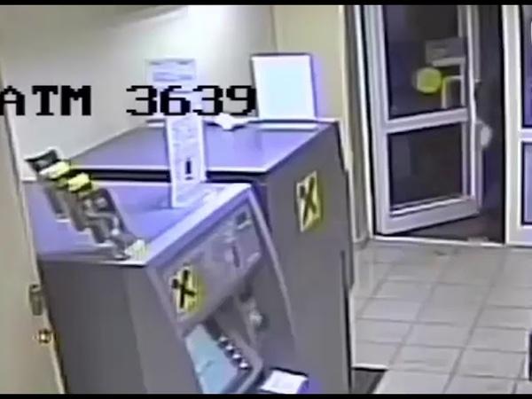 В Москве грабанули банк с помощью подрыва бензином