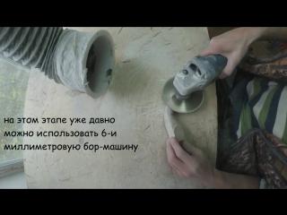 Как изготовить кошку из камня своими руками. Резьба по камню
