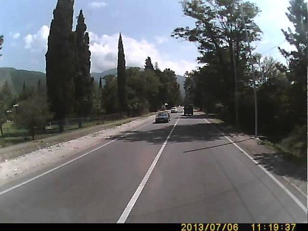 По дороге в Сухум,из Пицунды(морвокзал)-Новый Афон(ч5).