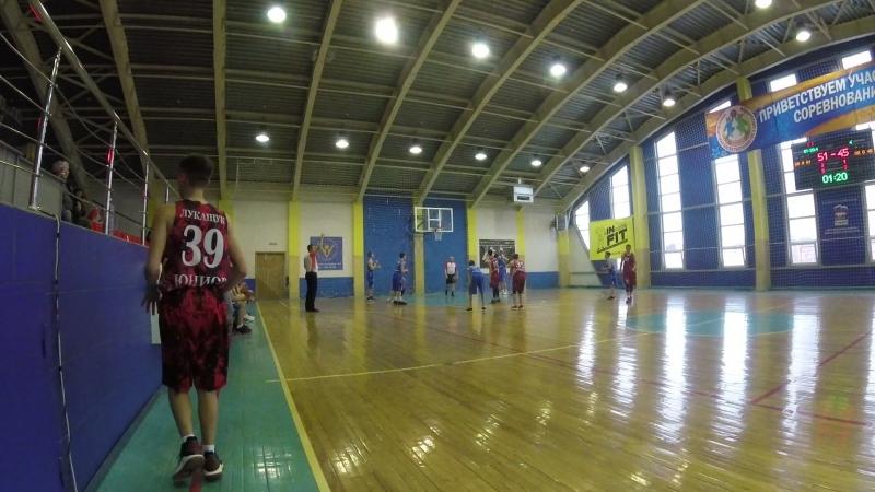 Юниор-Алтай баскет 4 период середина