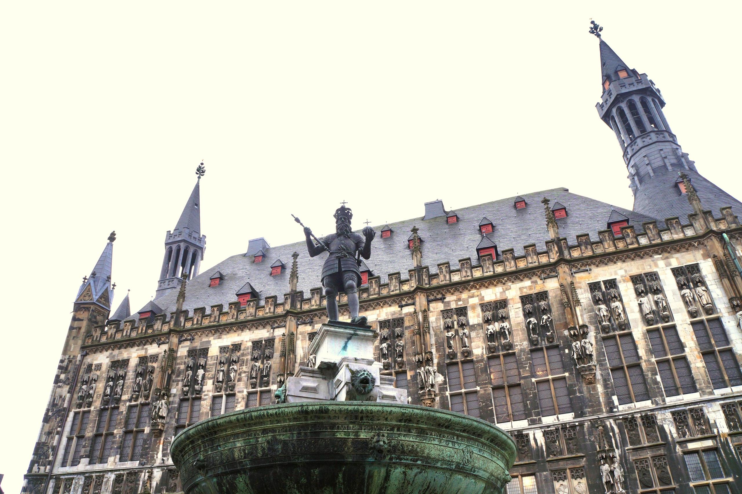 Аахен - древняя столица Европы