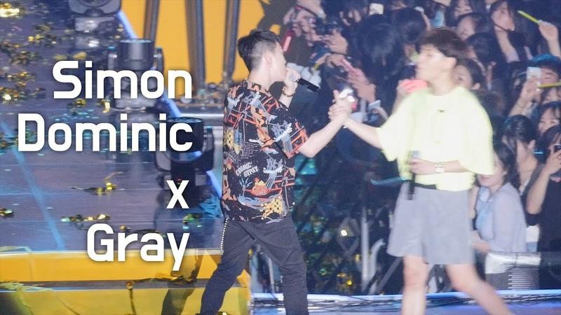 [04.08.2018] Simon D, Gray - Comfortable (KB Kookmin Bank Liiv Concert)
