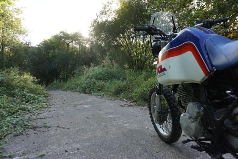 Cafe Racer Sspirit: кастом Honda NX650 Dakar