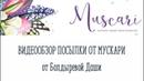 Обзор посылки от Мускари