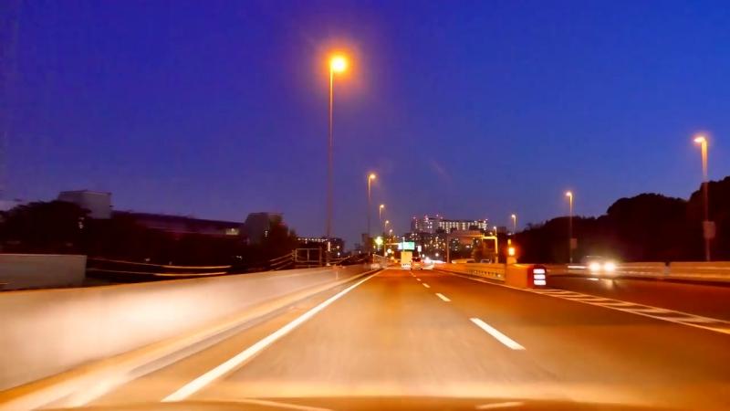 首都高ドライブ GH4撮影テスト 2日目 (夕方・夜景) [4k 車載動画 2014_⁄04]