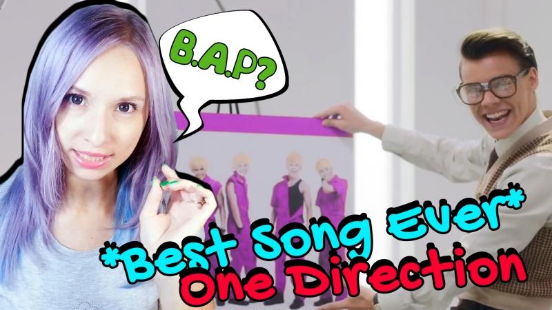ONE DIRECTION BEST SONG EVER MV REACTION РЕАКЦИЯ ARI RANG