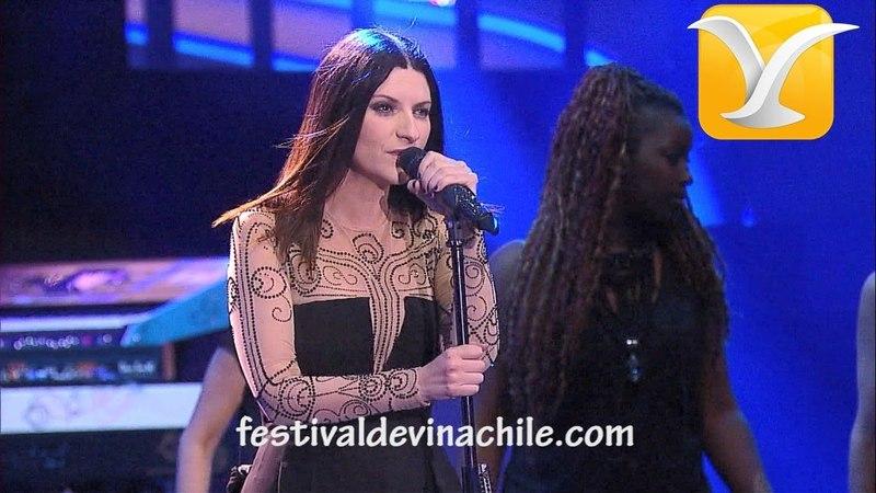 Laura Pausini Entre tú y mil mares Festival de Viña del Mar 2014 HD