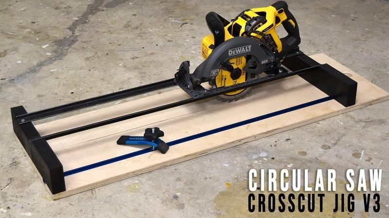 DIY Circular Saw Crosscut and Router Jig